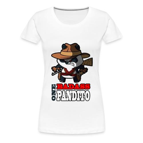 Bad Ass Pandito SiLee Films - Women's Premium T-Shirt