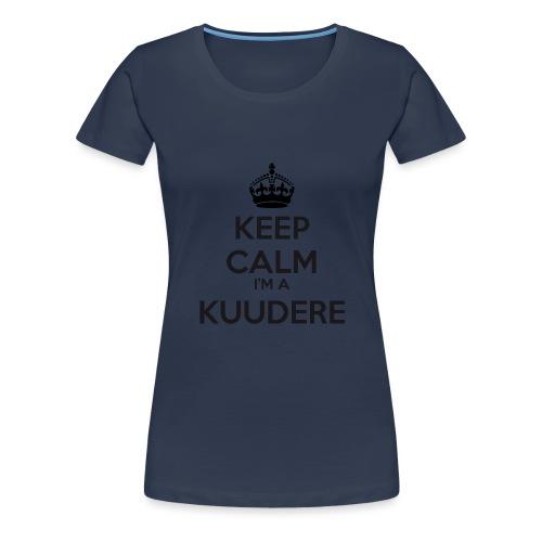 Kuudere keep calm - Women's Premium T-Shirt