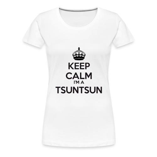 Tsuntsun keep calm - Women's Premium T-Shirt