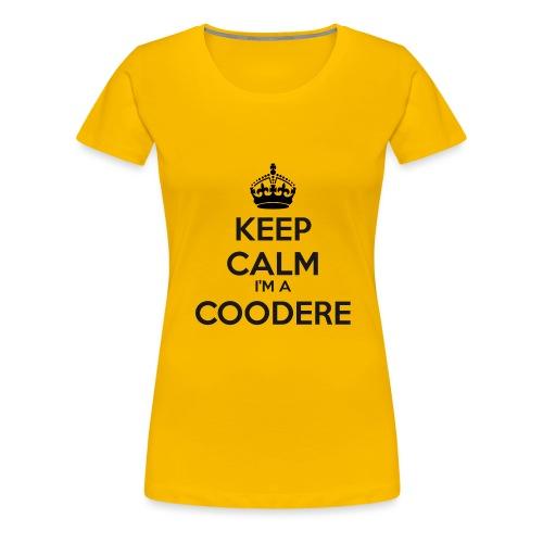Coodere keep calm - Women's Premium T-Shirt