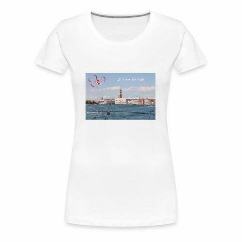 I love Venice - Frauen Premium T-Shirt