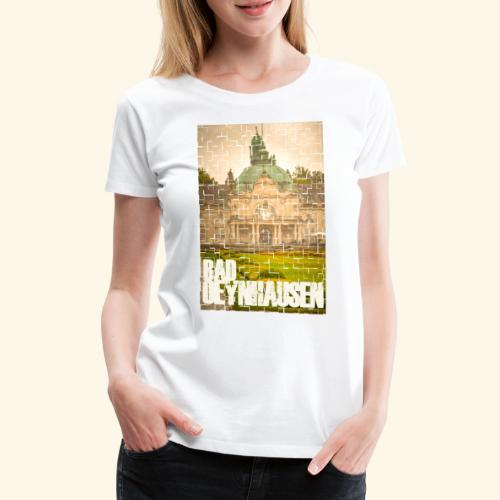 Super Fancy Kaiser Puzzle - Frauen Premium T-Shirt