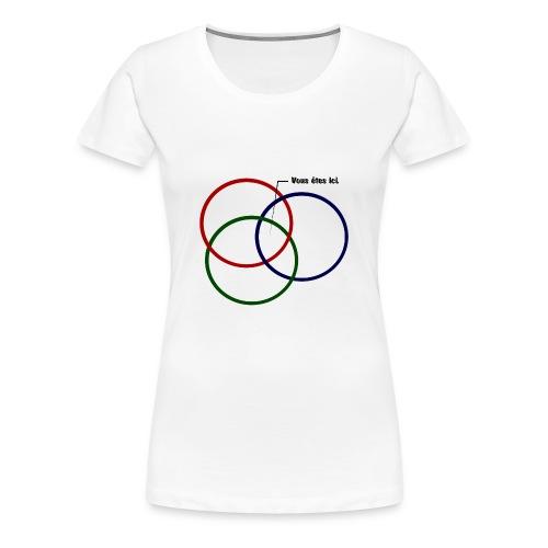 ISR T shirt png - T-shirt Premium Femme