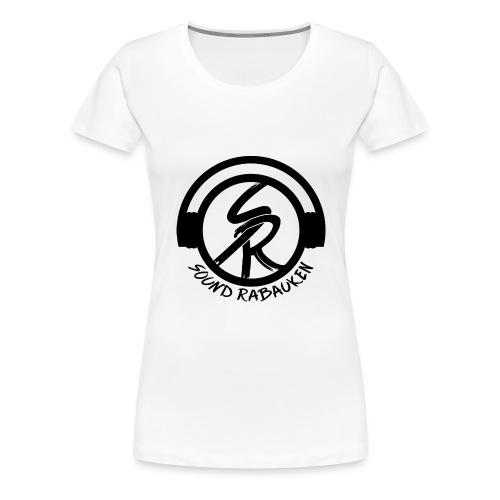 Sound Rabauken Logo schwarz - Frauen Premium T-Shirt