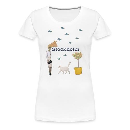 Stockholm - Premium-T-shirt dam