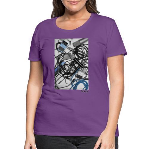 Jumio Print - Naisten premium t-paita