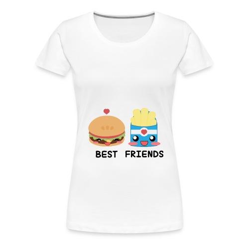 hamburger - Maglietta Premium da donna