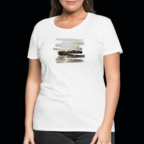 TRAVEL SO LONG YOU CAN - Frauen Premium T-Shirt