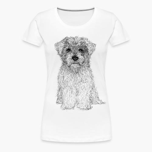 Glen of Imaal - Scribble - Frauen Premium T-Shirt