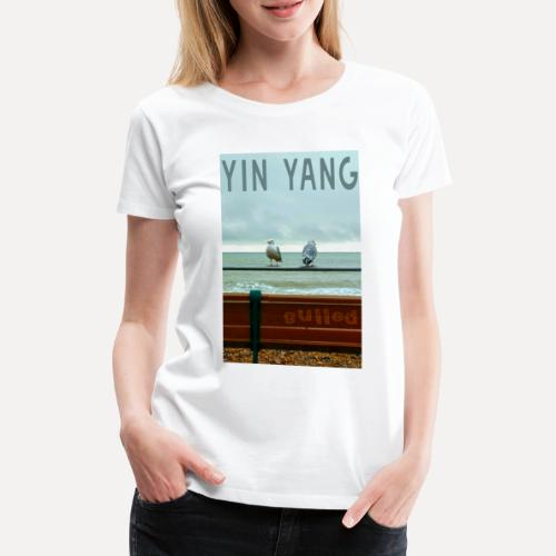 Yin Yang Gulls - Women's Premium T-Shirt