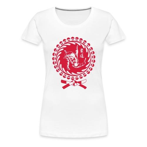judo - Frauen Premium T-Shirt