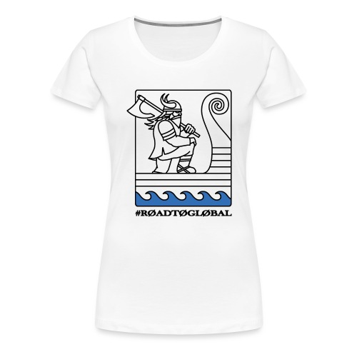 ROAD TO GLOBAL CS:GO - Women's Premium T-Shirt