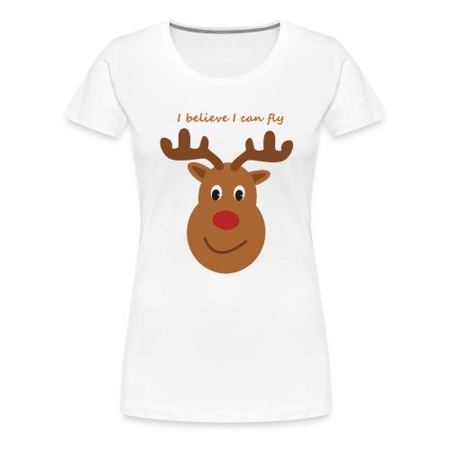 Isles of Rudolph - Women's Premium T-Shirt