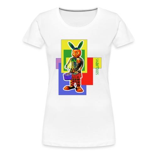 smARTkids - Slammin' Rabbit - Women's Premium T-Shirt