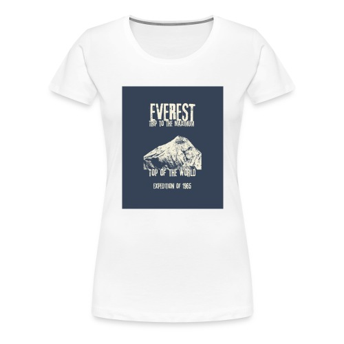 Everest - Trip to the Maximum - Frauen Premium T-Shirt