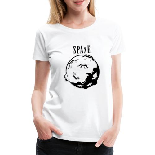 SPAzE w/ Text - Premium-T-shirt dam