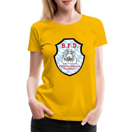 Inoffizielles bayrisches Feuerwehrabzeichen - Frauen Premium T-Shirt