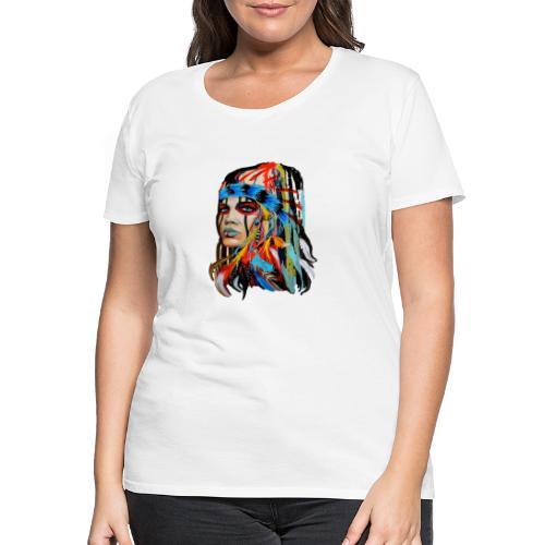 Pióra i pióropusze - Koszulka damska Premium