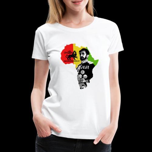 Africa Conquerin Lion H.I.M. - Frauen Premium T-Shirt