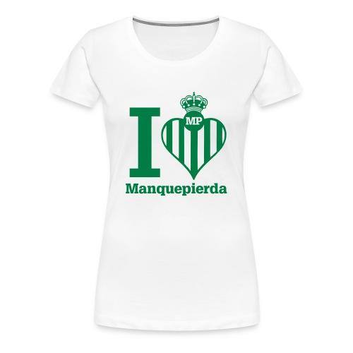 ilovebetis - Camiseta premium mujer