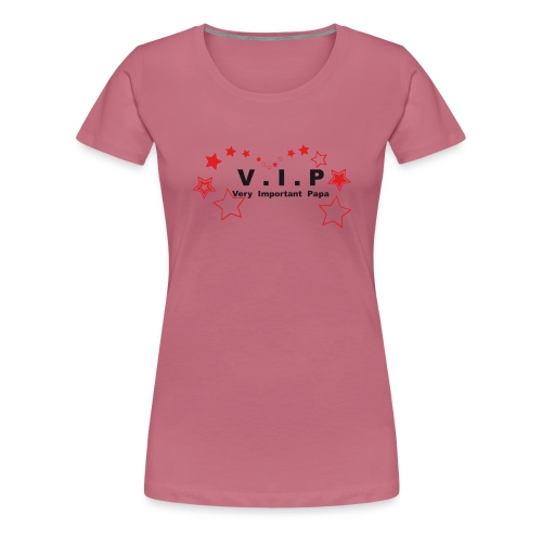 vip - very important papa Vecto - 07 graph - T-shirt Premium Femme
