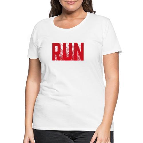 RUN - Frauen Premium T-Shirt
