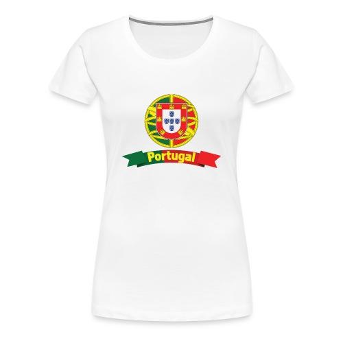 Portugal Campeão Europeu Camisolas de Futebol - Women's Premium T-Shirt