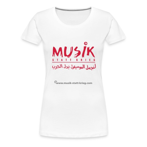 msk_Design_rot - Frauen Premium T-Shirt