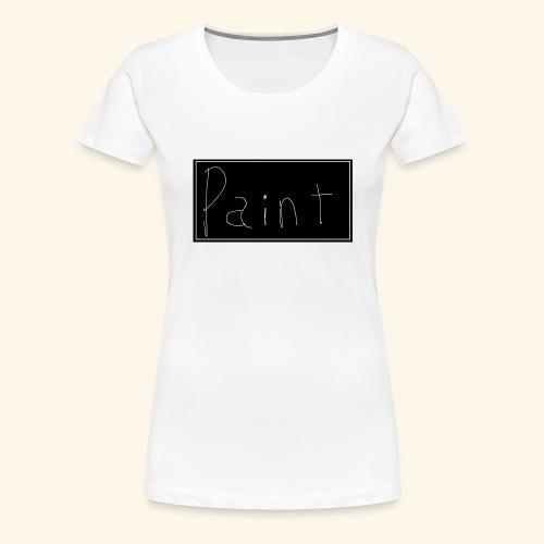 Paint - Dame premium T-shirt