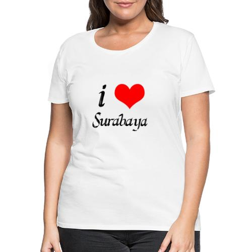 surabaya png - Vrouwen Premium T-shirt