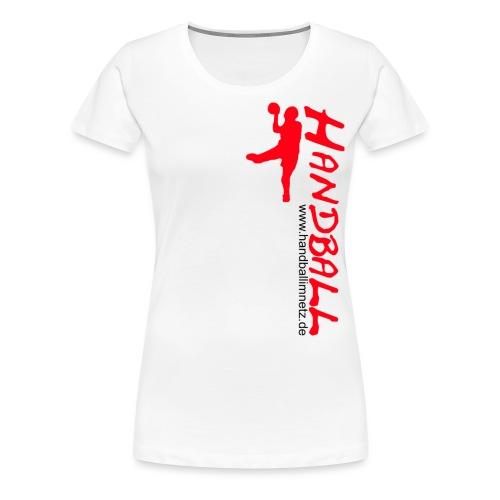 HIN Werfer Rot Schwarz - Frauen Premium T-Shirt