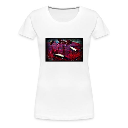 Bullet Cap - Naisten premium t-paita