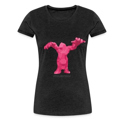 Tours Tech logo HD jpg png - T-shirt Premium Femme
