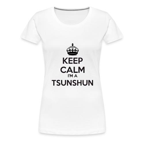 Tsunshun keep calm - Women's Premium T-Shirt