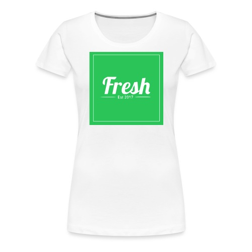 Green square - Women's Premium T-Shirt