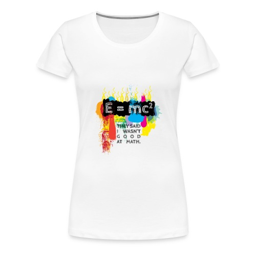 Good at Math - Women's Premium T-Shirt