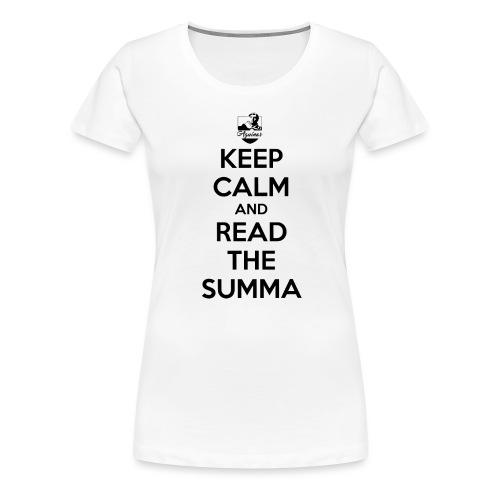 Keep Calm Thomiste - Frauen Premium T-Shirt