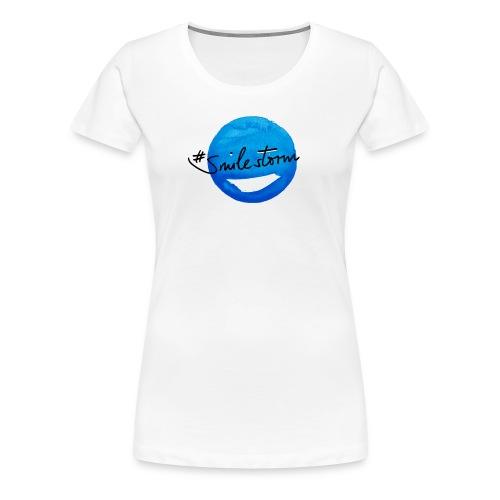 smilestorm bluemoon - Frauen Premium T-Shirt