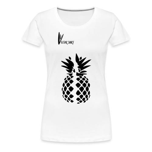 Broken Pineapple - Vector Shirt - T-shirt Premium Femme