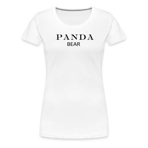 PANDA BÄR - Frauen Premium T-Shirt