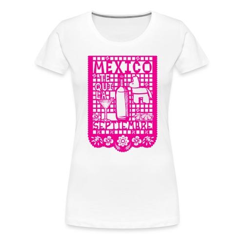 Papel Picado - Camiseta premium mujer