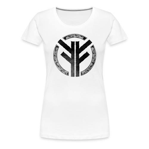 Forefather symbol black - Women's Premium T-Shirt