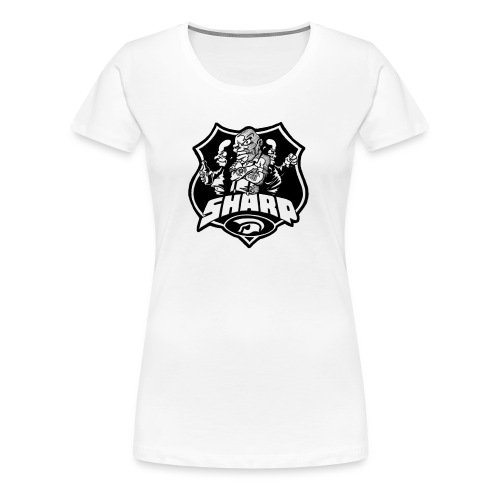 sharp 3 - Frauen Premium T-Shirt