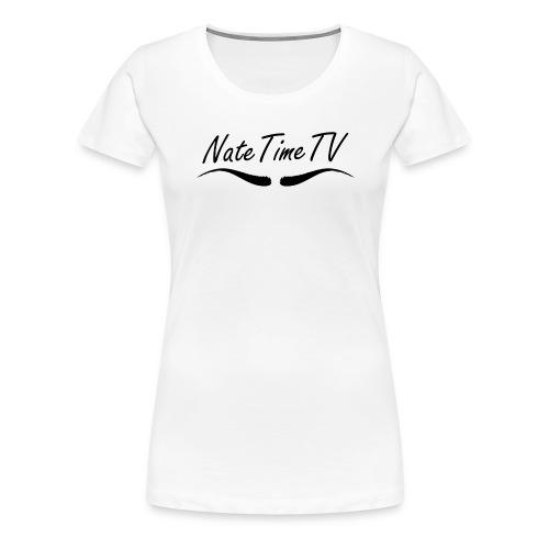 NateTimeTv - Women's Premium T-Shirt