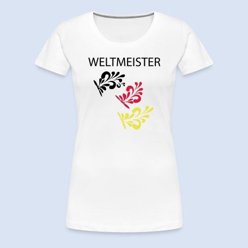 Frankfurt Bembelschwung - Frauen Premium T-Shirt
