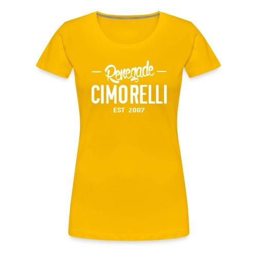 renegadecimorelli - Women's Premium T-Shirt