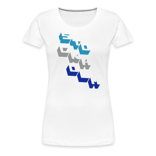 stockholm block - Premium-T-shirt dam