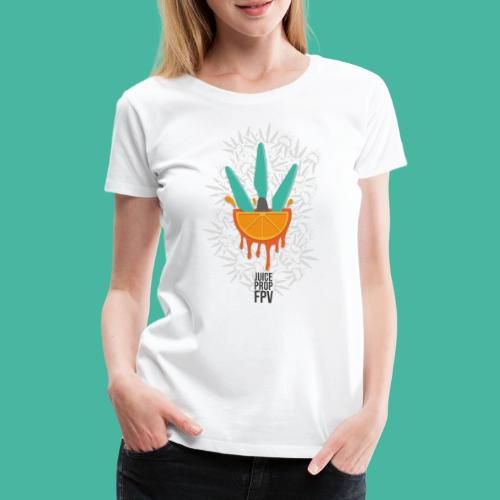 JuicePropFPV LOGO Pile - Frauen Premium T-Shirt