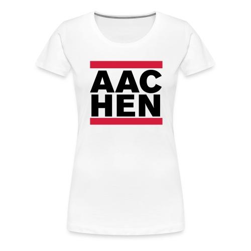 aachenwhite - Frauen Premium T-Shirt