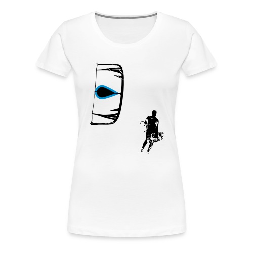 Kiter - Frauen Premium T-Shirt
